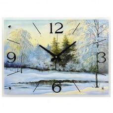 """Часы 21 век """"Зима"""""""