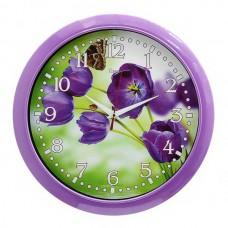"""Часы 21 век """"Тюльпаны"""""""