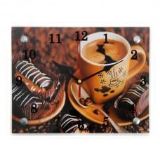 """Часы 21 век """"Чашка с кофе"""""""