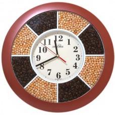Часы Авангард 1Б5 кофе и горох