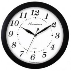 Часы Камелия 201329 черное дерево