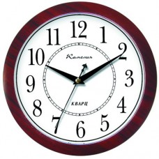 Часы Камелия 268053 красное дерево