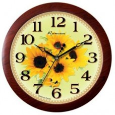Часы Камелия 4071123 подсолнухи