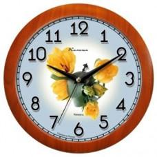 Часы Камелия 4155416 тюльпаны