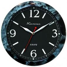Часы Камелия 425391 чёрный мрамор