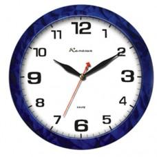 Часы Камелия 4329 синяя абстракция